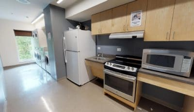 Elm Hall Floor Kitchen and Laundry Room