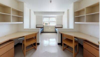 Martin Hall Double Room as a Single