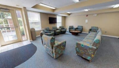 Mercer Hall Lounge