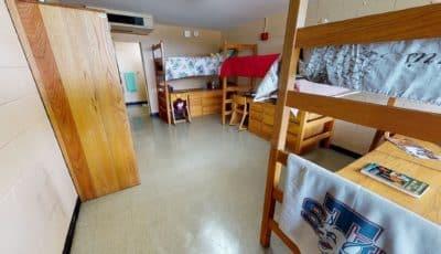 University Inn Triple Room 3D Model